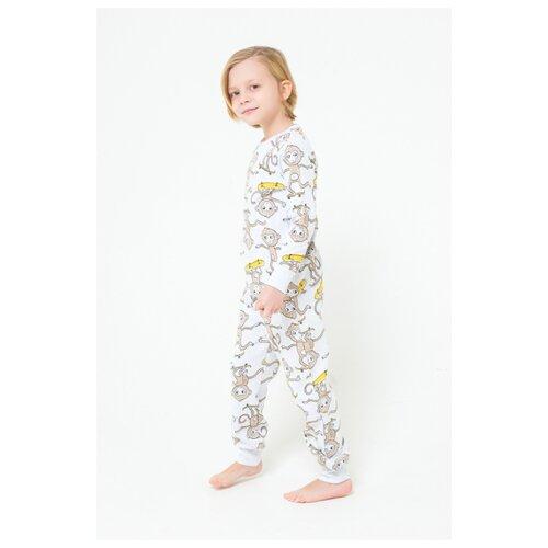 Купить Пижама crockid размер 122, меланж, Домашняя одежда