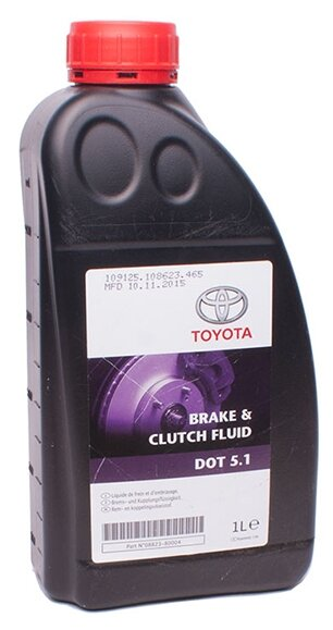 Тормозная жидкость TOYOTA DOT 5.1 08823-80004 1 л