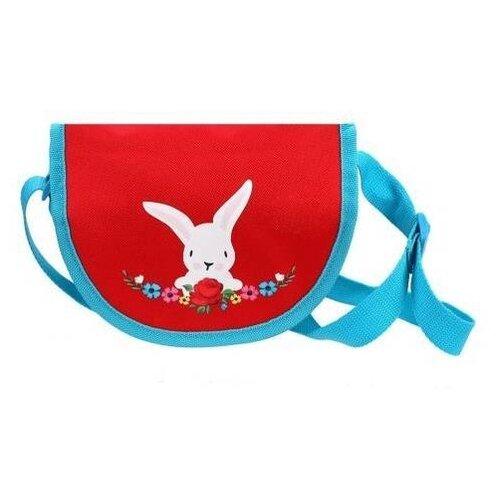Сумка седло Mary Poppins Зайка с цветами (530066), текстиль сумка седло maxgear horse cover first 0426 maxgear page 7