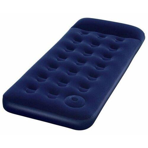 Надувной матрас Bestway Easy Inflate Flocked Air Bed 67223 синий