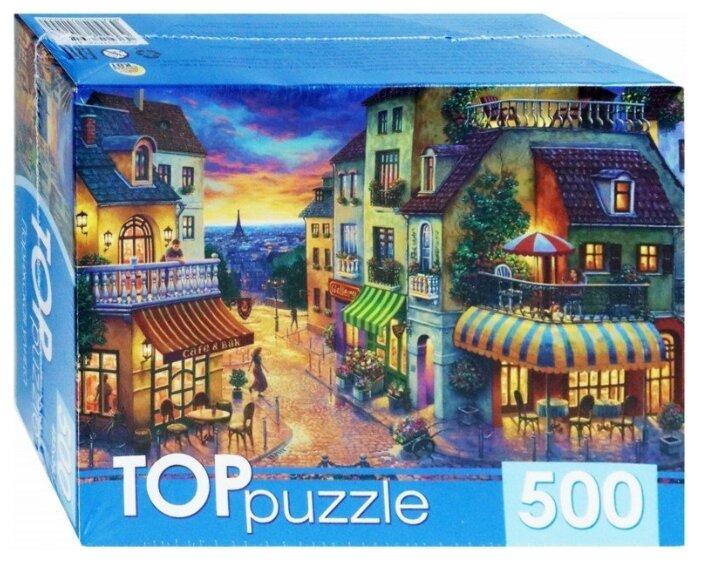 Пазл Рыжий кот TOP puzzle Парижская улица (ХТП500-4224), 500 дет.