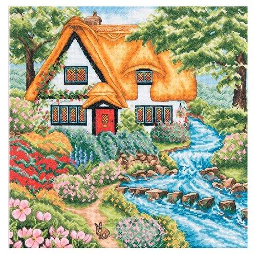 Anchor Набор для вышивания Коттедж у ручья 31 х 31 см (PCE959) Anchor   фото