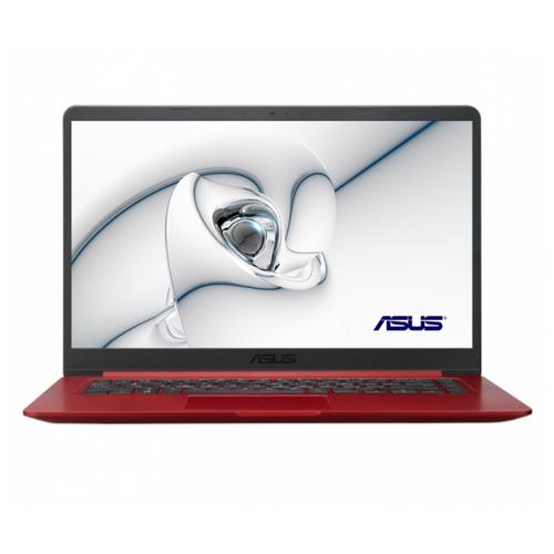 Купить Ноутбук ASUS VivoBook 15 X510UF-BQ758 (Intel Core i3 7020U 2300MHz/15.6 /1920x1080/4GB/256GB SSD/DVD нет/NVIDIA GeForce MX130 2GB/Wi-Fi/Bluetooth/Endless OS) 90NB0IK3-M12390 красный