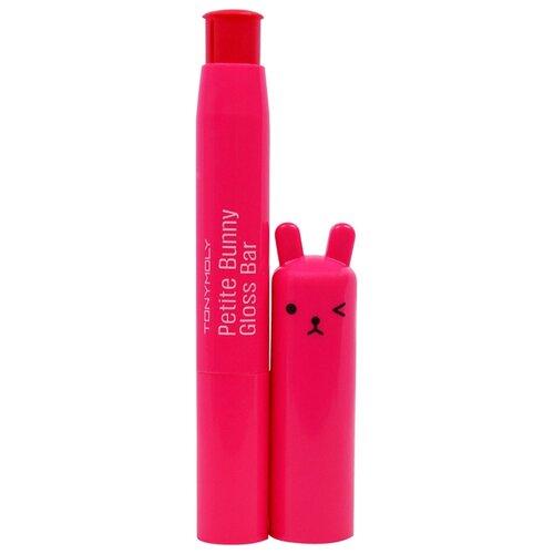 TONY MOLY блеск для губ Petit Bunny Gloss Bar 04, 04 juicy cherry