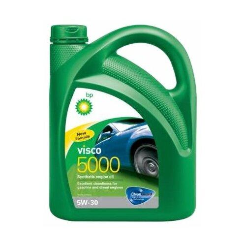 Синтетическое моторное масло BP Visco 5000 5W-30, 4 л
