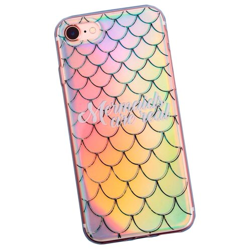 Чехол-накладка Арт Узор 3903717 для Apple iPhone 7/iPhone 8 Mermaids are real чехол накладка арт узор 3903713 для apple iphone 7 iphone 8 space odyssey