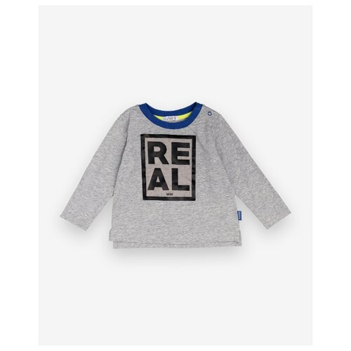 Купить Лонгслив Gulliver Baby размер 86, серый, Футболки и рубашки