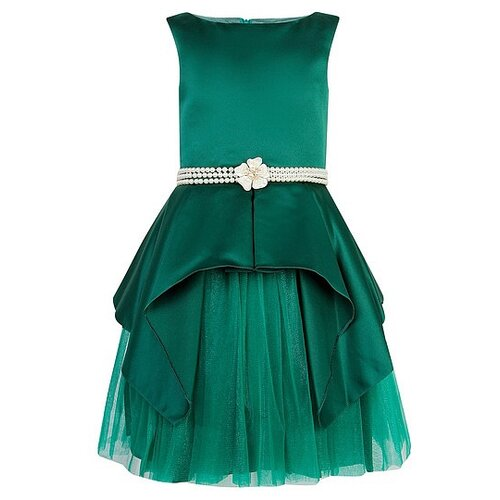 Платье David Charles размер 140, зеленый