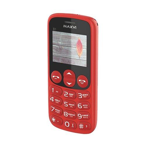 Телефон MAXVI B1 красный