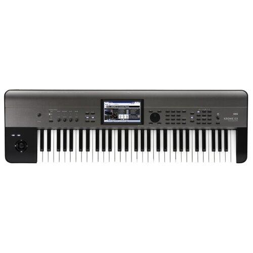 Синтезатор KORG Krome EX-61 серый/черный недорого