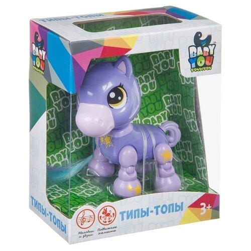 Интерактивный пони Bondibon Baby You, озвученный, подвижные конечности и голова, 13*6,5*16 см