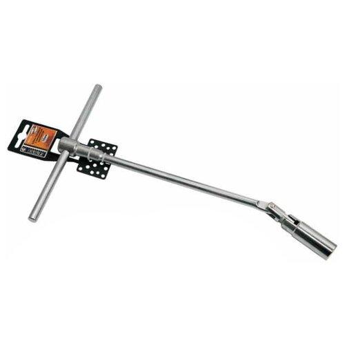 Торцевой ключ Т-образный шарнирный АвтоDело 11345 т образный торцевой ключ 13мм 450мм jtc 3641