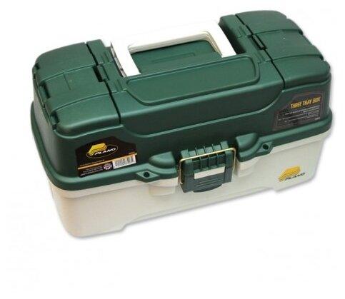 Ящик рыболовный PLANO 6203 с 3х уровневой системой хранения приманок и двумя боковыми отсеками на крышке