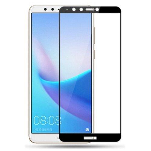 Защитное стекло TFN для Huawei Y9 2018 черный
