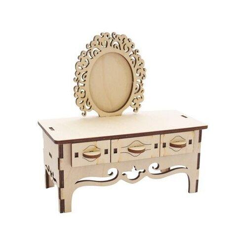 Купить Astra & Craft Деревянная заготовка для декорирования Трюмо L-502 бежевый, Декоративные элементы и материалы