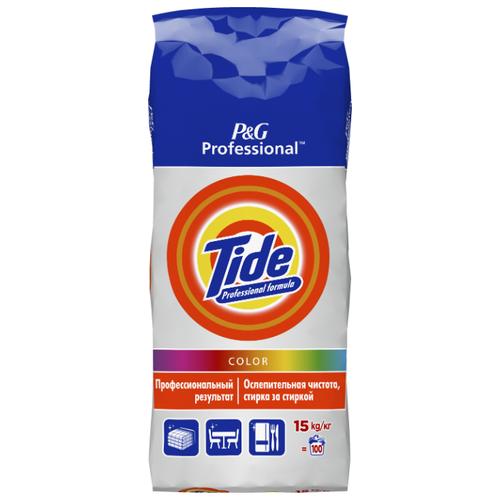 Стиральный порошок Tide Expert Color (автомат) пластиковый пакет 15 кг persil стиральный порошок expert color автомат 1 5 кг