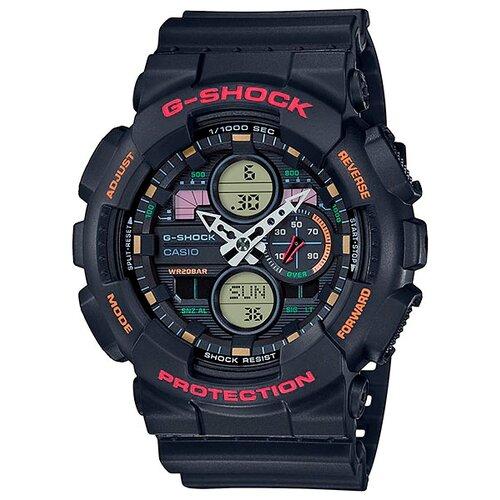 цена Наручные часы CASIO GA-140-1A4 онлайн в 2017 году