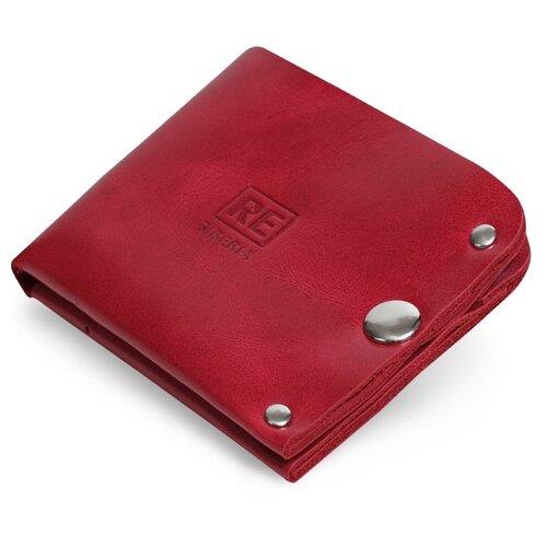Портмоне Reconds Normal, натуральная кожа красный глянцевый кошелек reconds reconds mp002xu02f9z