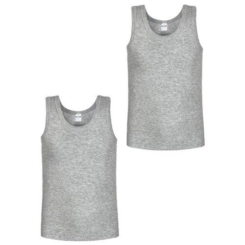 Купить Майка BAYKAR 2 шт., размер 98/104, серый, Белье и пляжная мода