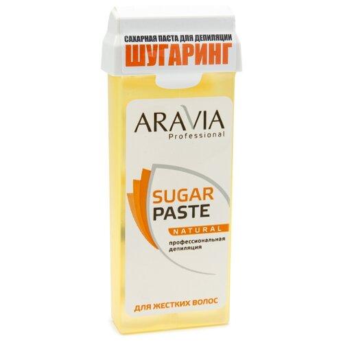 Паста для шугаринга ARAVIA Professional Натуральная в картридже 150 г aravia professional сахарная паста в картридже натуральная 150 г
