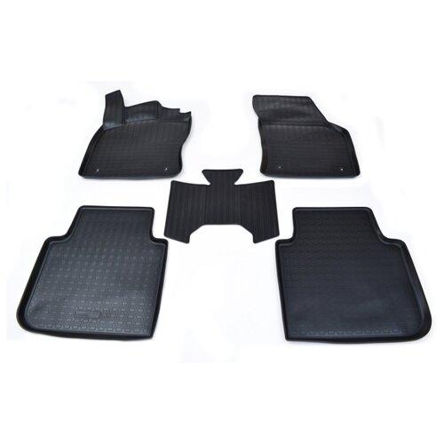 Фото - Комплект ковриков NorPlast NPA11-C81-250 5 шт. черный комплект ковриков norplast np11 ldc 69 250 renault koleos 5 шт черный