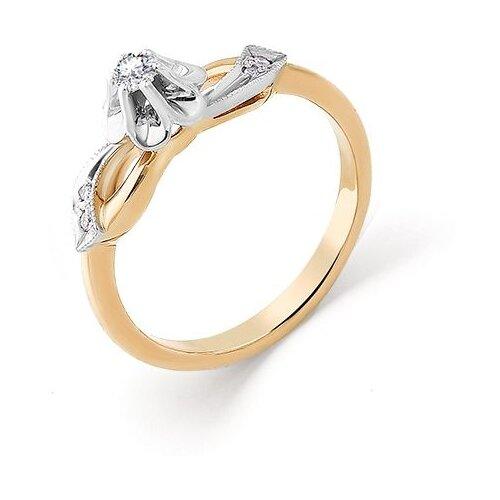 Мастер Бриллиант Кольцо с 5 бриллиантами из красного золота 1-104-792, размер 18 мастер бриллиант кольцо с 6 бриллиантами из красного золота 1 106 567 размер 18 5