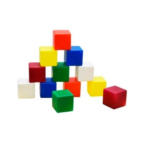 Кубики Мишка Кострома большие К-002
