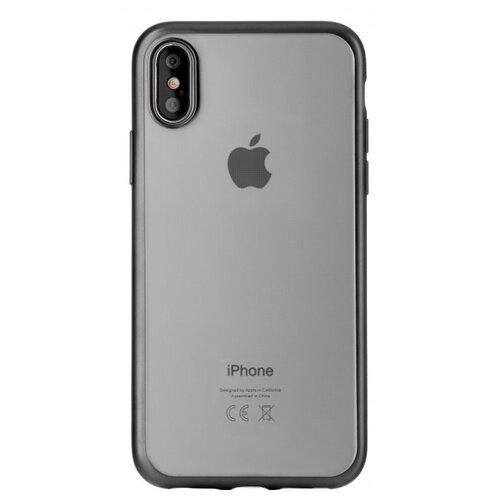 цена Чехол uBear Frame Tone Case для Apple iPhone X/Xs black онлайн в 2017 году