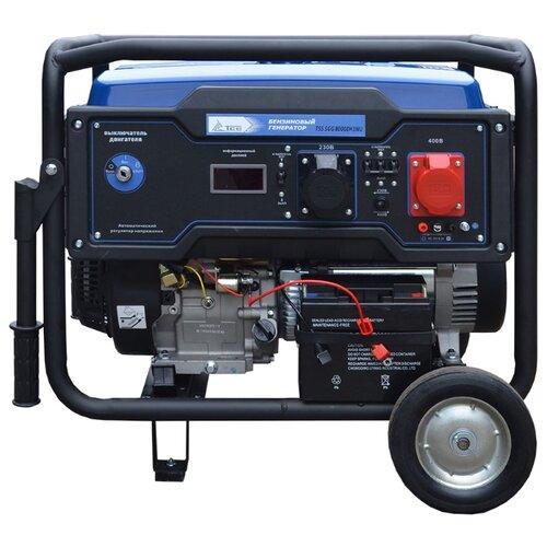 Фото - Бензиновый генератор ТСС SGG 8000EH3NU (8000 Вт) бензиновый генератор тсс sgg 5000 eh 5000 вт