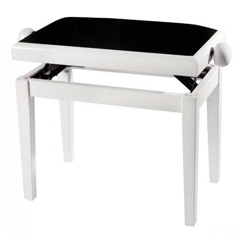 Банкетка GEWA Deluxe White High Gloss белый/черный