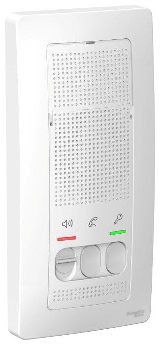 Дверное переговорное устройство Schneider Electric BLNDA000011 белый