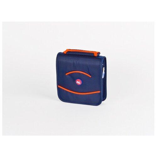 Фото - Портмоне для CD/DVD дисков на 28 шт, ProfiOffice, синий/оранжевый, MT-28S портмоне profioffice mt 48s синий