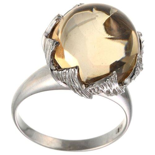 цена на JV Кольцо с кварцем из серебра 30-003-010-032-LQZ-WG, размер 16.5