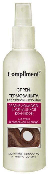 Compliment Спрей-термозащита для волос восстанавливающий
