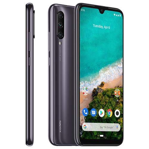 Смартфон Xiaomi Mi A3 4/64GB Android One серый телефон xiaomi mi a3 4gb 64gb серый global version