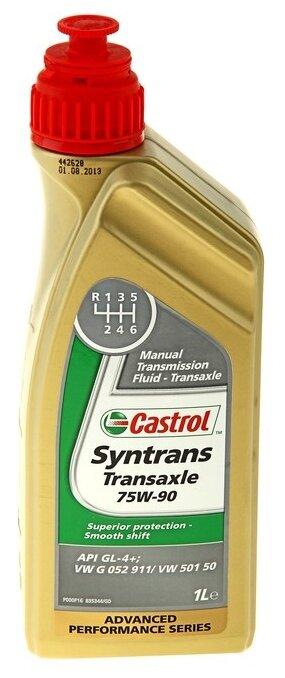 Трансмиссионное масло Castrol Syntrans Transaxle 75W90 1л (1557C3)