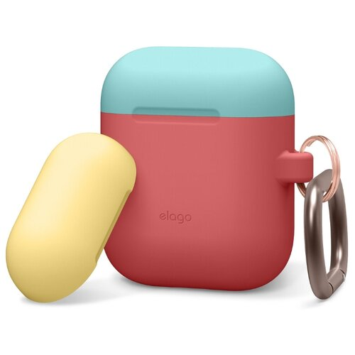 Чехол Elago Duo Hang Case italian rose/coral blue/creamy yellow
