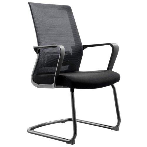 Конференц-кресло Norden chairs Интер CF, обивка: текстиль, цвет: сиденье ткань черная / спинка сетка черная