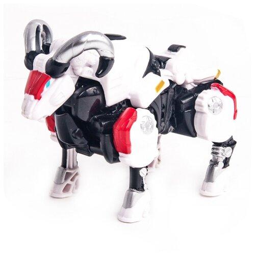 Купить Трансформер YOUNG TOYS Metalions Aries Mini белый/черный, Роботы и трансформеры