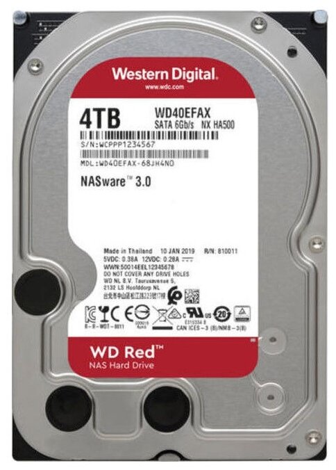 Жесткий диск Western Digital WD40EFAX