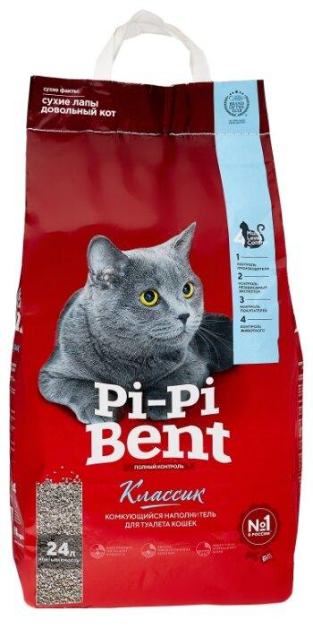 Комкующийся наполнитель Pi-Pi-Bent Классик 10 кг