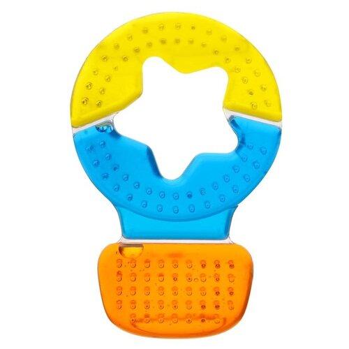 Купить Прорезыватель Крошка Я Воздушный шар 940258 оранжевый/синий/желтый, Погремушки и прорезыватели