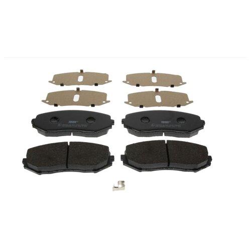 Фото - Дисковые тормозные колодки передние Ferodo FDB4060 для Suzuki Grand Vitara (4 шт.) дисковые тормозные колодки передние ferodo fdb1891 для toyota lexus subaru 4 шт