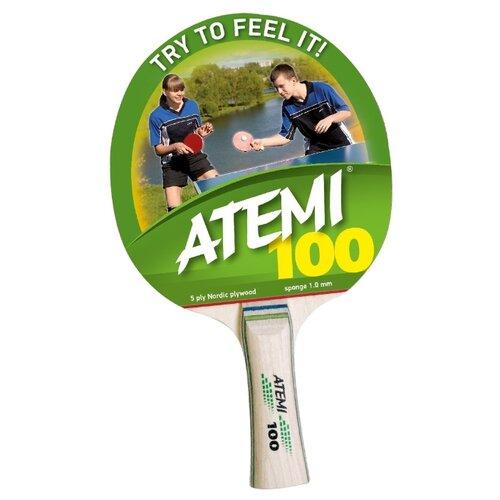 Ракетка для настольного тенниса ATEMI 100 CV ракетка для бадминтона atemi ba 400