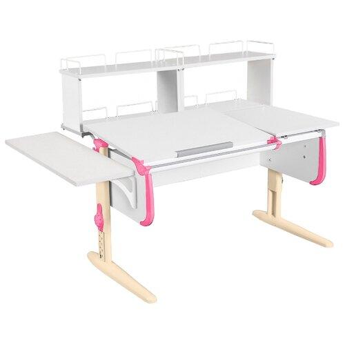 Стол ДЭМИ СУТ-25-02Д2 145x82 см белый/розовый/бежевый стол дэми сут 25 02д2 145x82 см белый зеленый бежевый