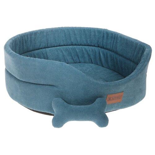 Лежак для собак и кошек Katsu Yohanka Sun 5 64х56х23 см лазурный