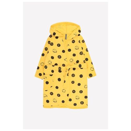 Фото - Халат crockid размер 98, желтый халат crockid размер 98 серый меланж