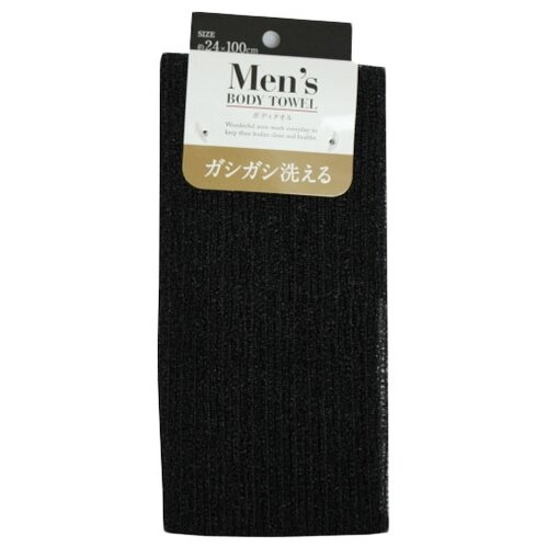 Мочалка Neoshido Men's Body Towell жесткая черный