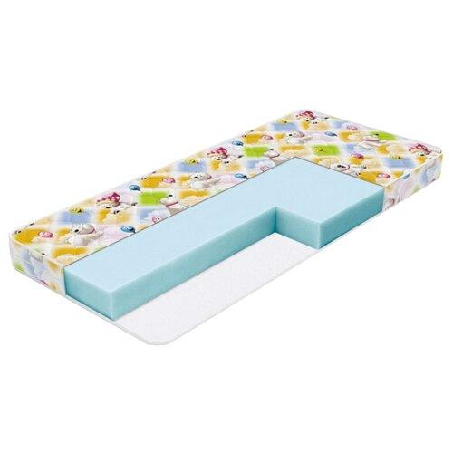 Матрас детский Орматек Kids Soft 90x200 белый/голубой/желтый