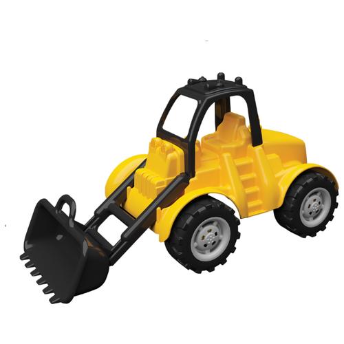Купить Бульдозер Terides Т8-015 42 см желтый/черный, Машинки и техника
